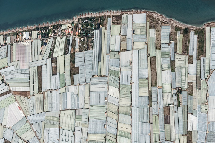 Mer de plastique en Espagne