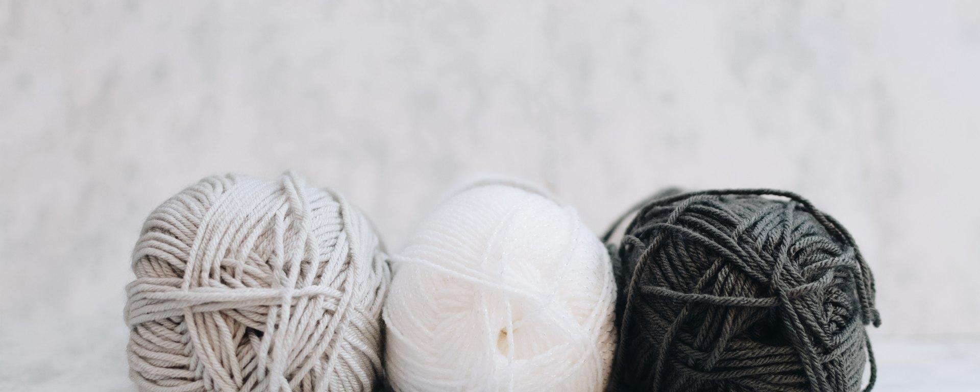 Pelotes de laine wool