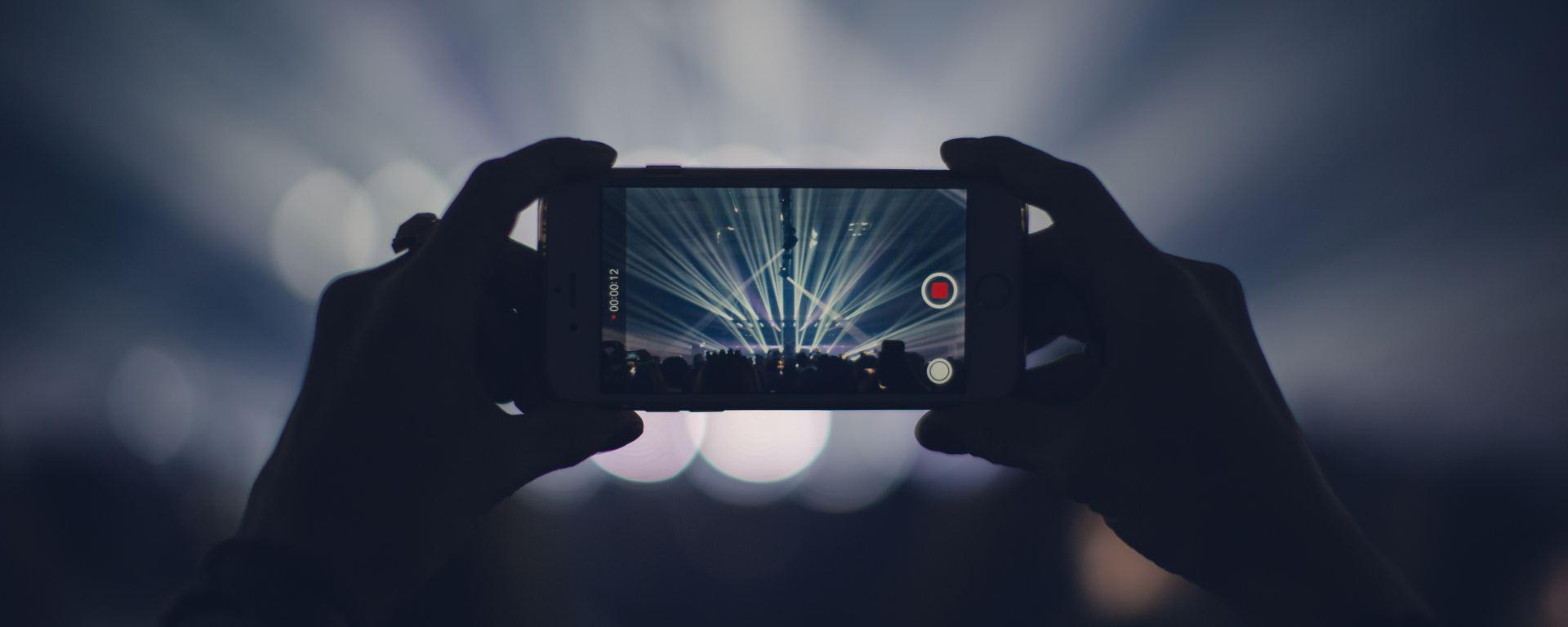 Instagram en concert